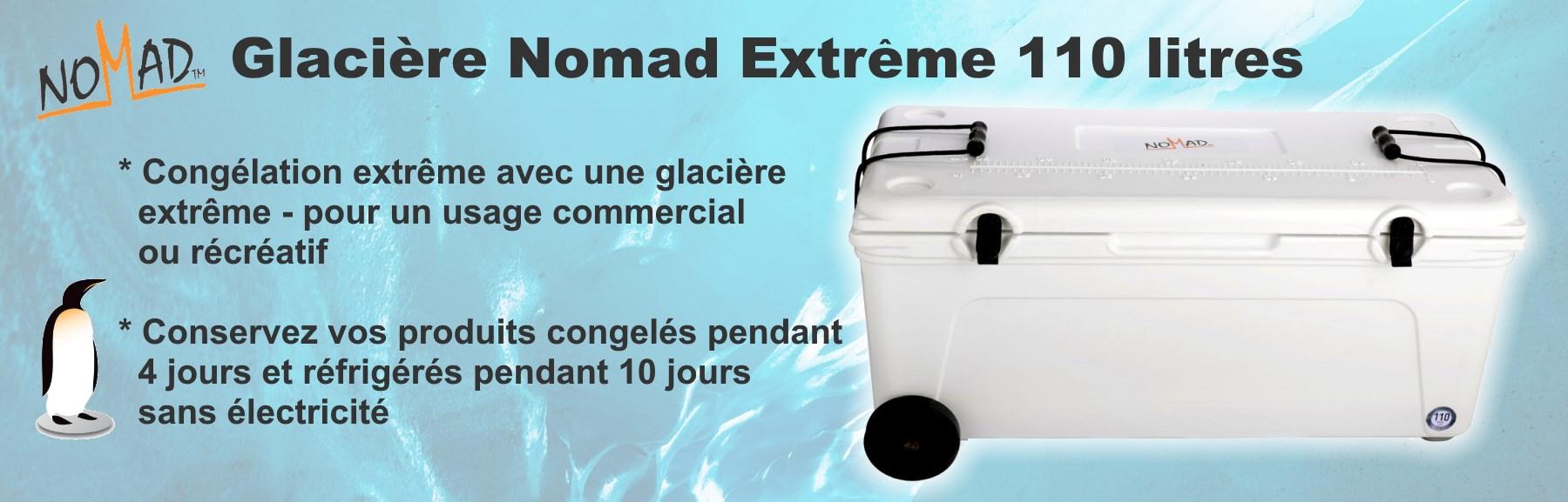 Glacière Nomad Extreme 110 litres